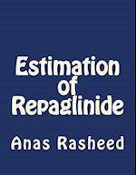 Estimation of Repaglinide