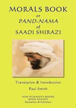 Morals Book or Pand-Nama of Saadi Shirazi