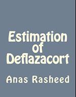 Estimation of Deflazacort