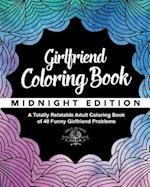 Girlfriend Coloring Book