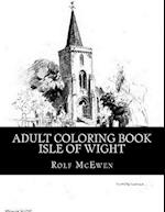Adult Coloring Book - Isle of Wight