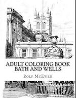 Adult Coloring Book - Bath and Wells