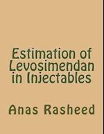 Estimation of Levosimendan in Injectables