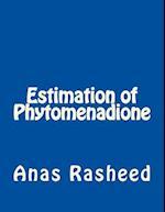 Estimation of Phytomenadione