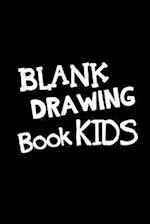 Blank Drawing Book Kids