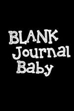 Blank Journal Baby