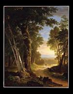100 Page Unruled Blank Notebook - The Beeches - Asher Brown Durand - 1845