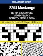 Smu Mustangs Trivia Crossword Word Search Activity Puzzle Book
