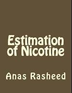 Estimation of Nicotine