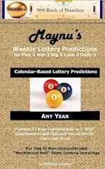 Maynu's Weekly Lottery Predictions