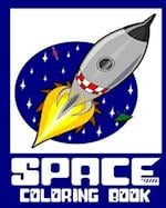 Space Coloring Book - 25 Designs to Color in - Colouring Book