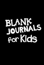Blank Journals for Kids