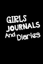 Girls Journals and Diaries