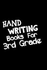 Hand Writing Books for 3rd Grade