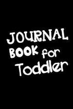 Journal Book for Toddler