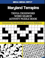 Maryland Terrapins Trivia Crossword Word Search Activity Puzzle Book