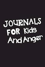 Journals for Kids and Anger