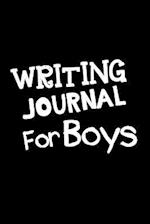 Writing Journal for Boys