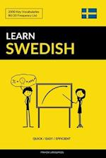 Learn Swedish - Quick / Easy / Efficient
