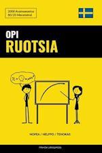 Opi Ruotsia - Nopea / Helppo / Tehokas