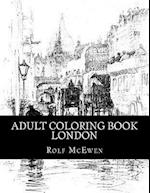 Adult Coloring Book - London