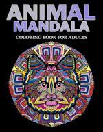 Animal Mandala Coloring Book for Adults