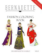 Bernadette Fashion Coloring Book Vol. 5