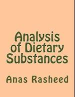Analysis of Dietary Substances