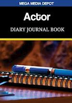 Actor Diary Journal Book