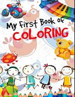 My First Book of Coloring