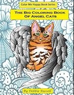 The Big Coloring Book of Angel Cats