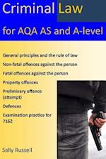 Criminal Law for Aqa as and A-Level