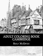 Adult Coloring Book - Cambridge