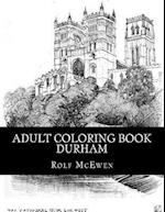 Adult Coloring Book - Durham