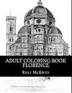 Adult Coloring Book - Florence