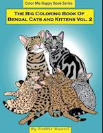 The Big Coloring Book of Bengal Cats and Kittens