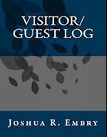 Visitor/Guest Log