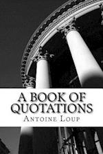 A Book of Quotations