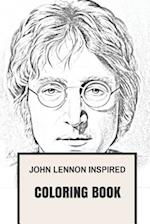 John Lennon Inspired Coloring Book