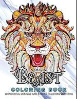 Amazing Beast Coloring Book