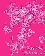 Happy Day Daily Planner