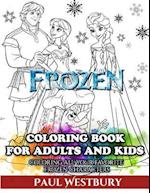 Frozen Coloring Book for Kids