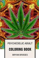 Psychedelic Adult Coloring Book