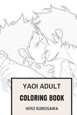 Yaoi Adult Coloring Book