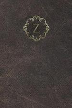 Monogram Z Meeting Notebook