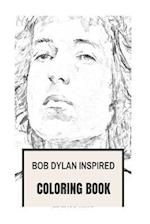 Bob Dylan Inspired Coloring Book