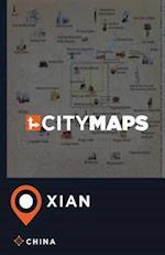 City Maps Xian China