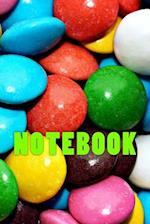 Colourful Candy Notebook