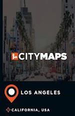 City Maps Los Angeles California, USA