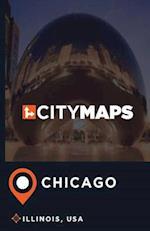 City Maps Chicago Illinois, USA